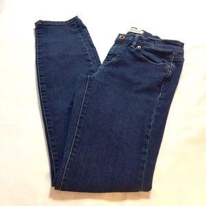 Madewell Blue Skinny Jeans